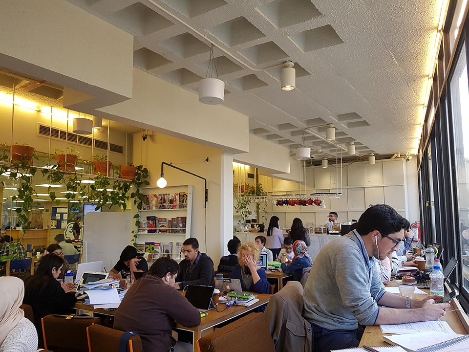 Rumi Cafe in Shoman Library | Courtesy of Ginin Dunia Rifai