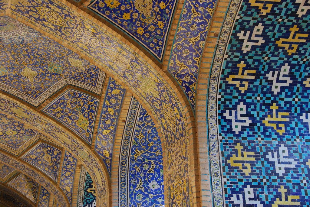 The symmetry and tiles of Imam mosque are flawless | © Paul Keller / Flickr