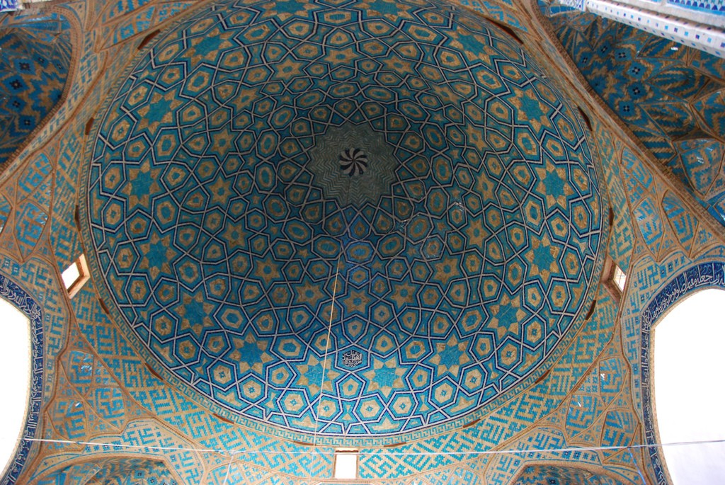 Starry dome of Yazd's Jameh Mosque | © Paul Keller / Flickr