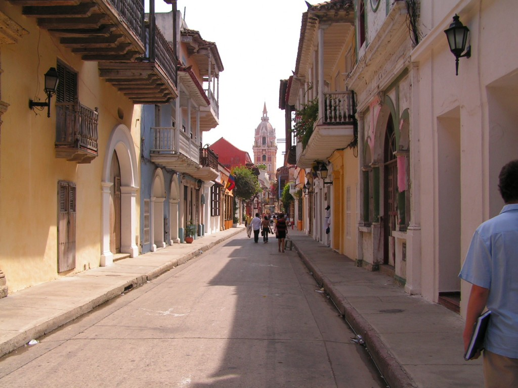 Colonial Streets of Cartagena © OAGREDOP / Flickr