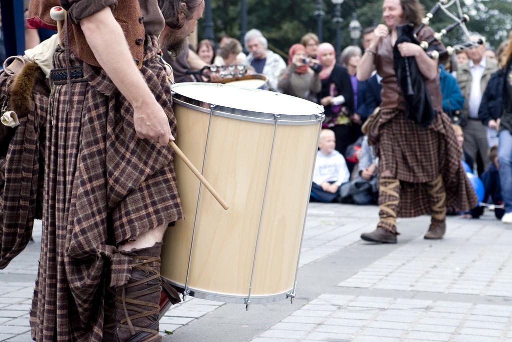 Gaelic Drummers | Courtesy Of This Is Edinburgh