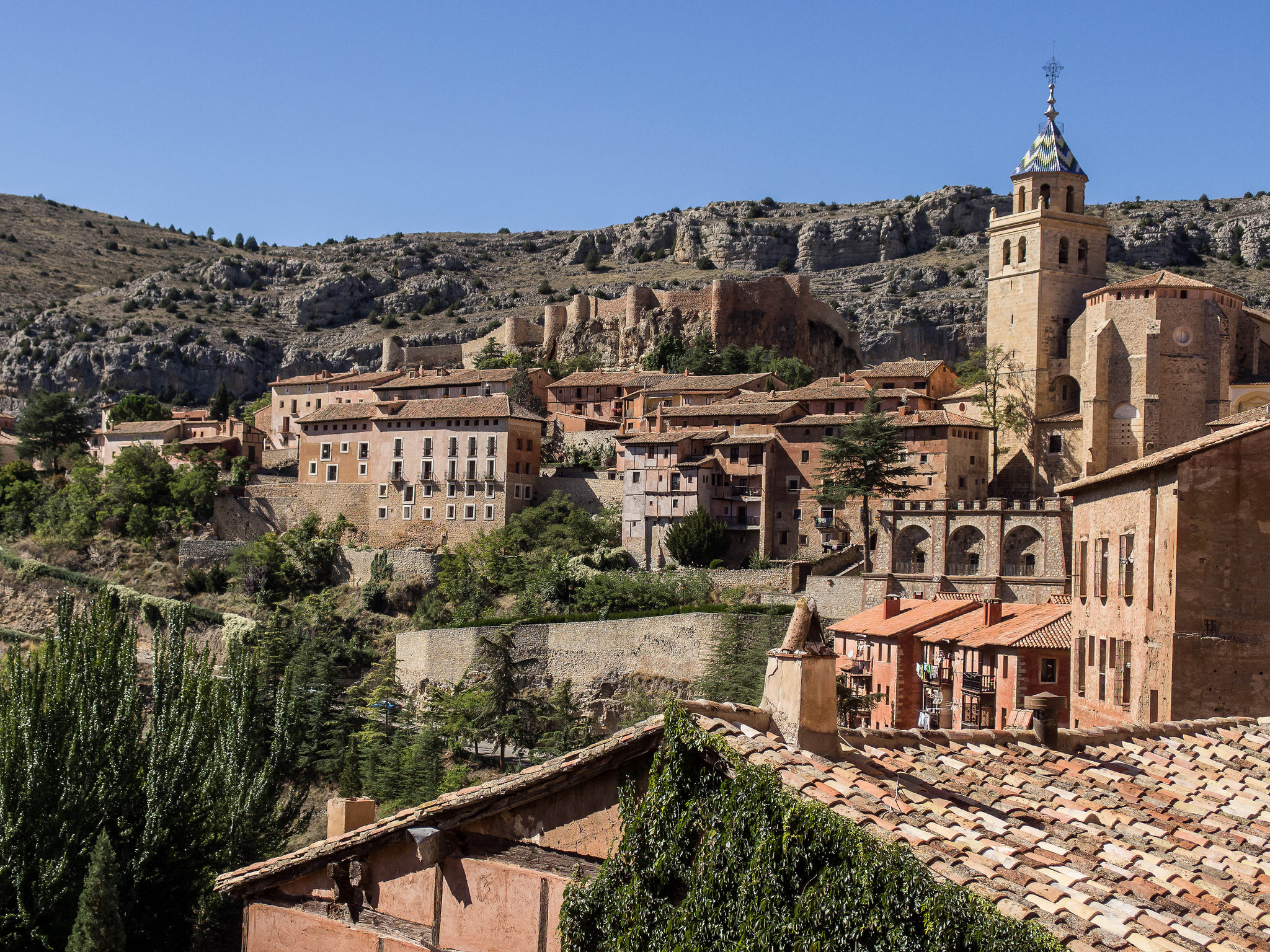 The town of Albarracín © FRANCIS RAHER