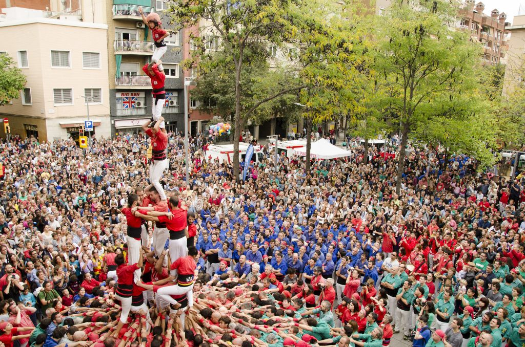Castellers © Quim Perelló