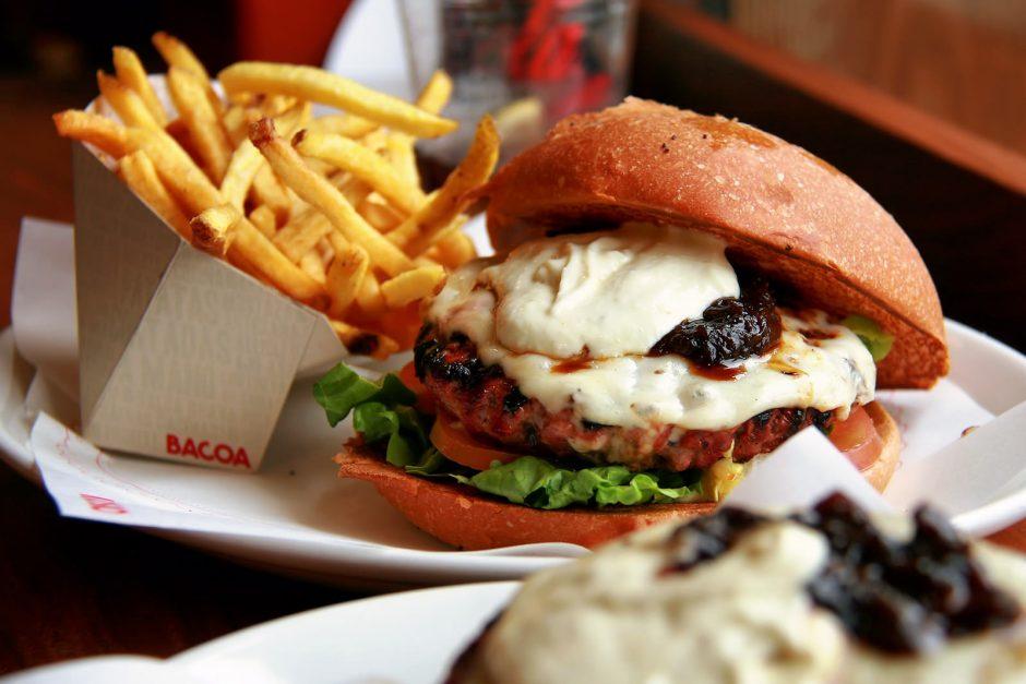 A burger at Bacoa © Jorge Franganillo