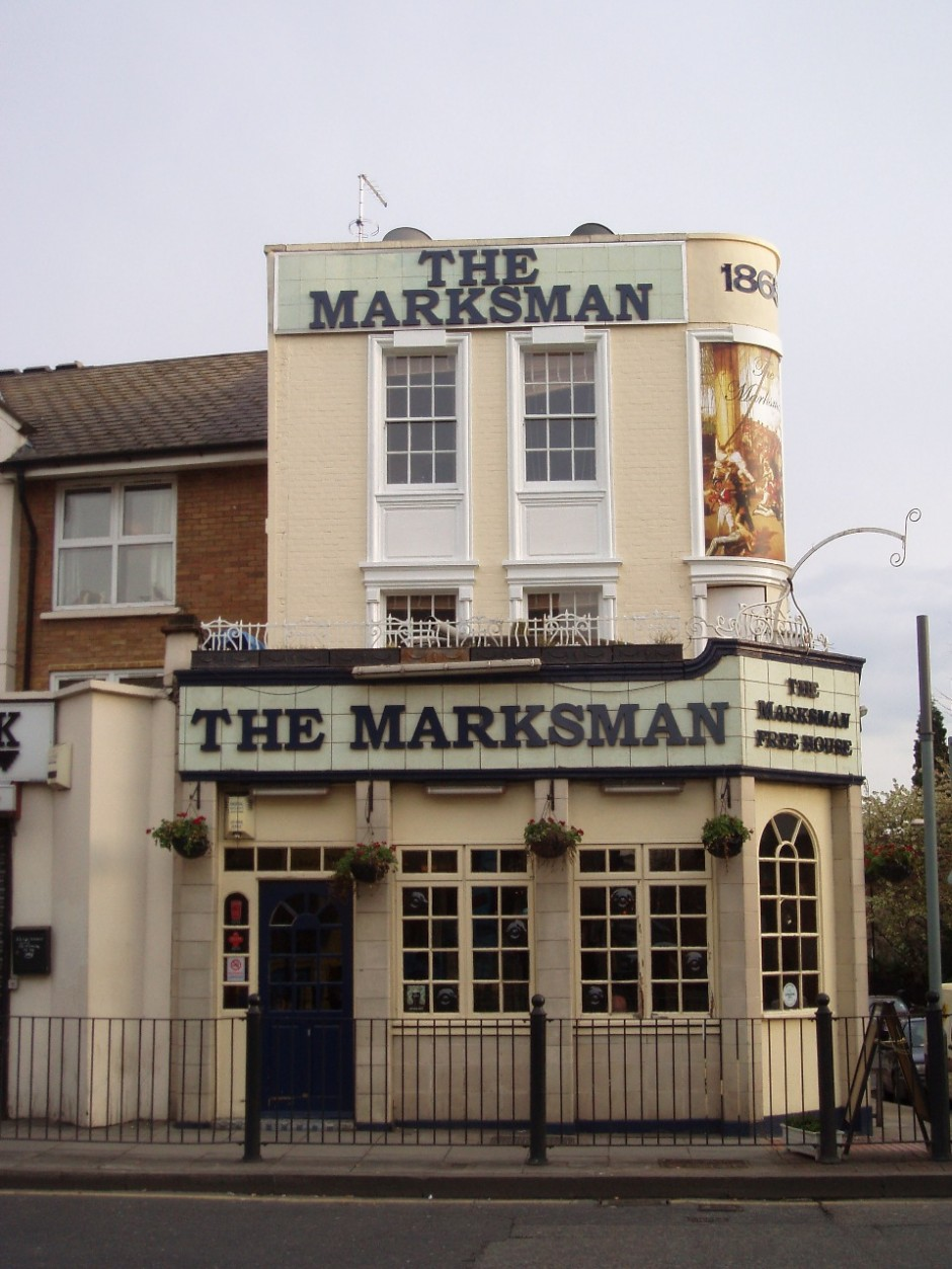 Marksman Public House, London