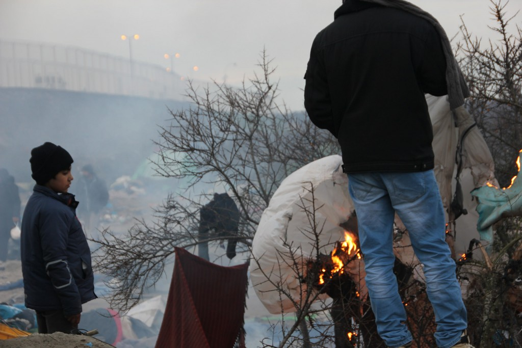 The Calais Jungle shortly before French authorities closed it down | malachybrowne / Flckr