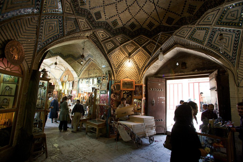 Vakil Bazaar has spectacular architecture and goods | © Nick Taylor / Flickr