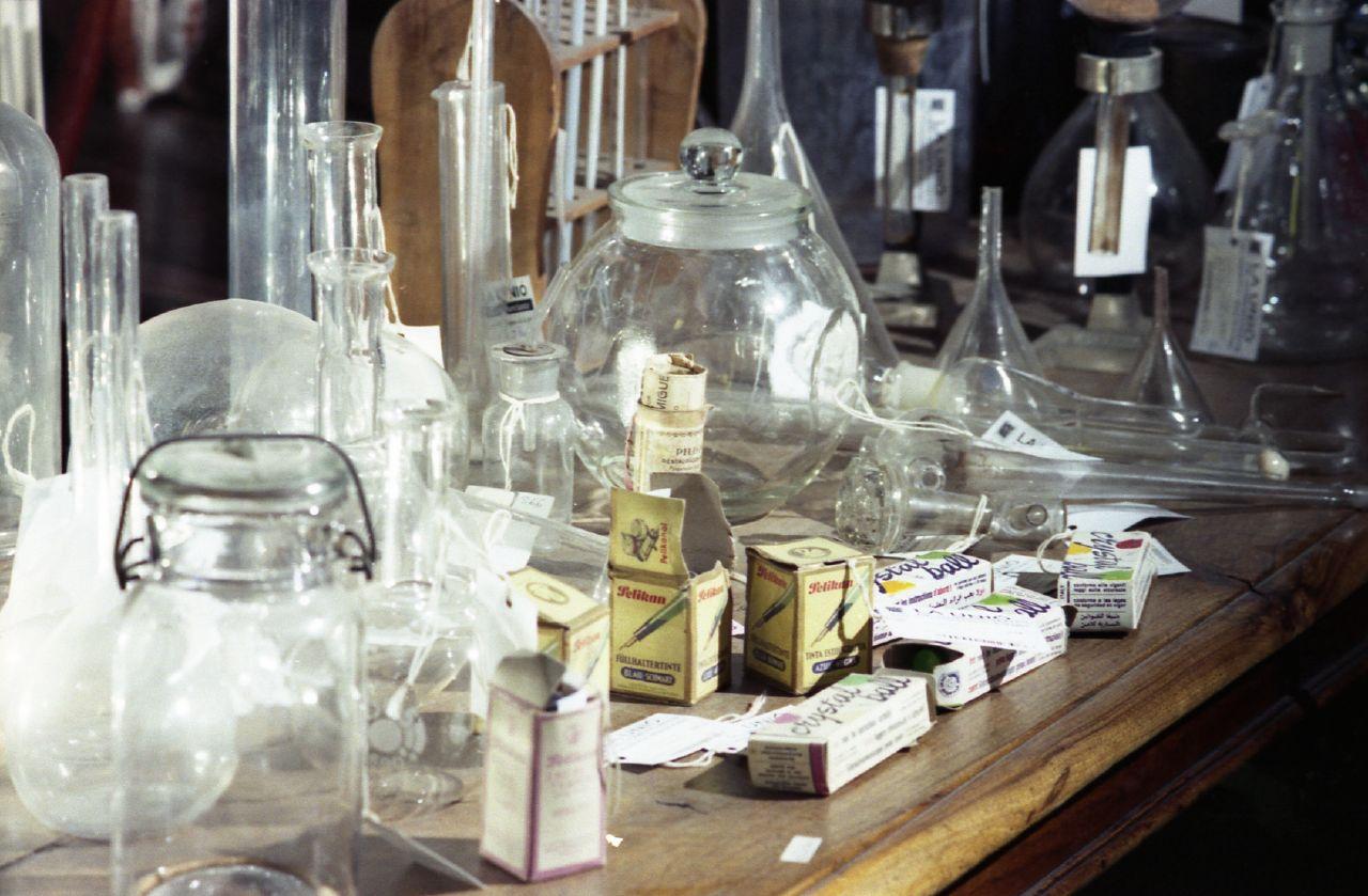 Glassware at the Mercantic © Jordi Hernandez