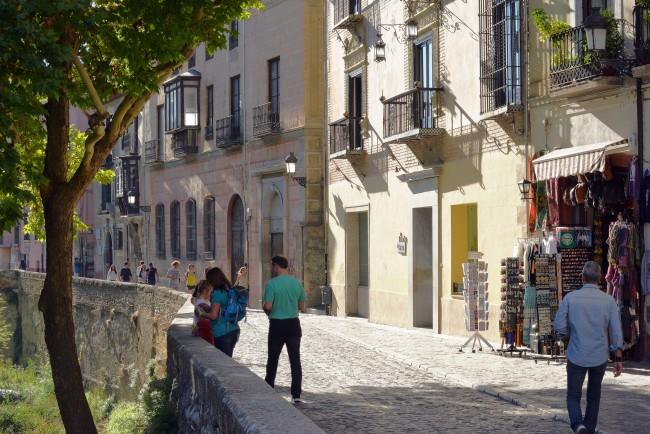 "<a href=""https://www.flickr.com/photos/hbarrison/"" target=""_blank"" rel=""noopener noreferrer"">The Carrera del Darro, Granada's prettiest street; | Harvey Barrison/Flickr</a>"