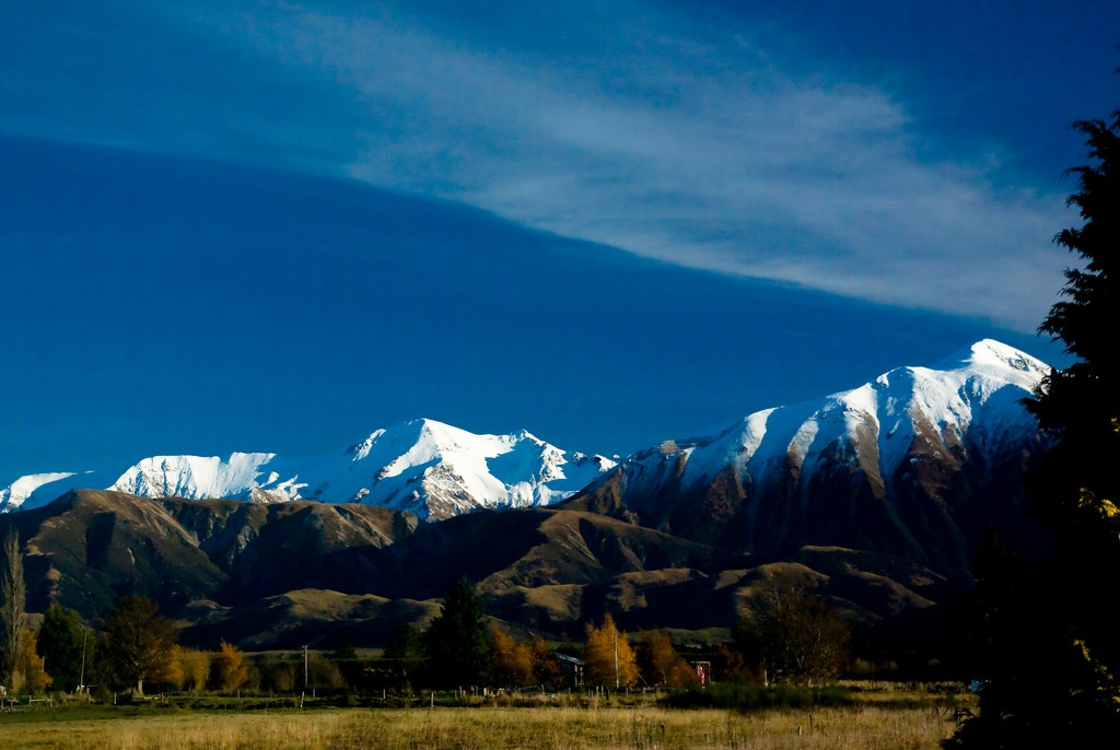 The Southern Alps, Near Christchurch | © Corey Leopold/Flickr