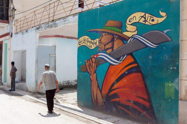 Graffiti in Old Havana, Cuba | © Karim Amar / Flickr
