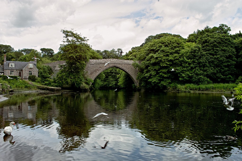 Brig o' Balgownie | © Boon Low/Flickr