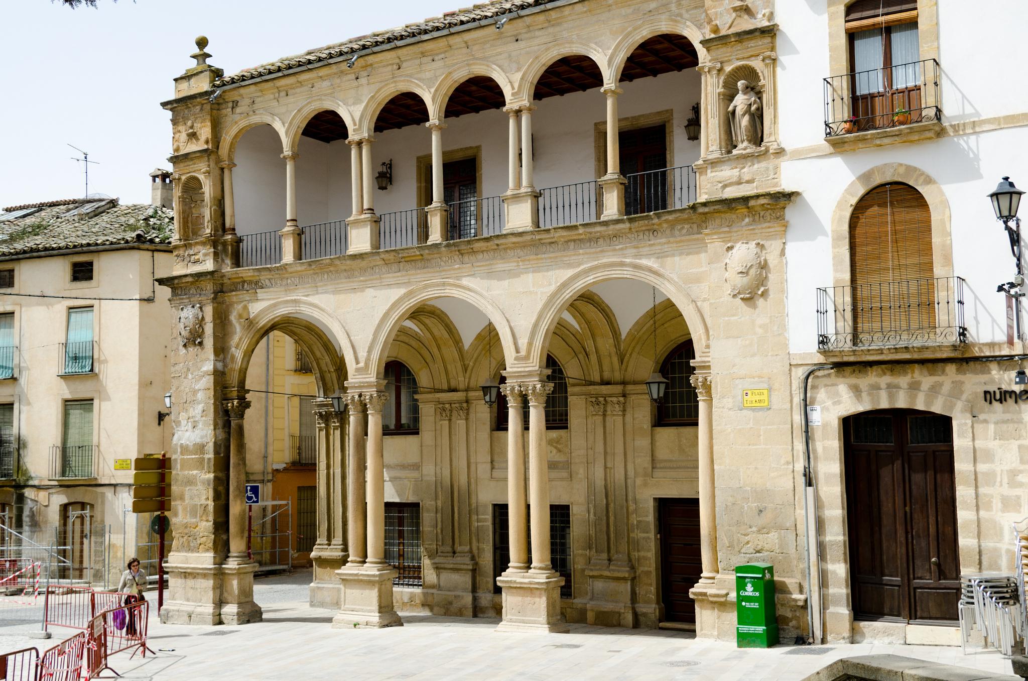 A facade in Úbeda © xiquinhosilva