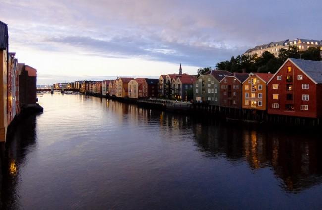 Nidelva, Trondheim © Almusaiti / Flickr