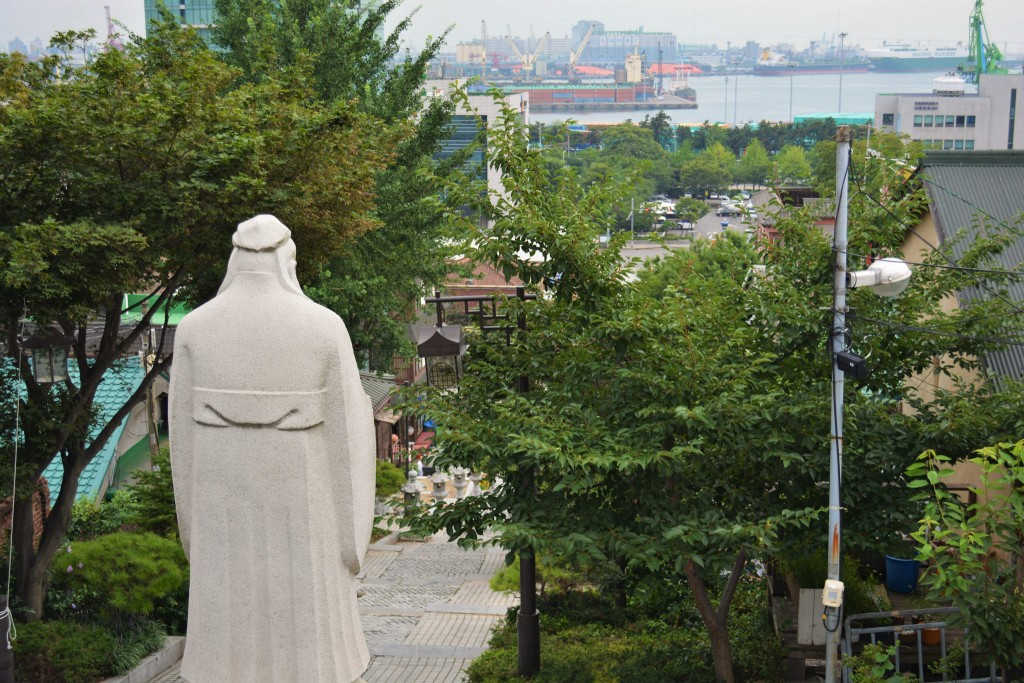 Confucius looks out over Chinatown | © Yeong-Nam / Flickr
