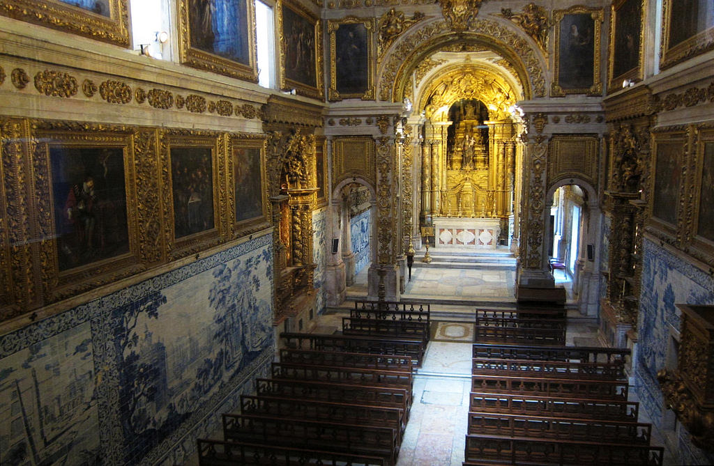 A chapel inside the Madre de Deus Convent/ National Azulejo Museum © Bosc d'Anjou / Flickr
