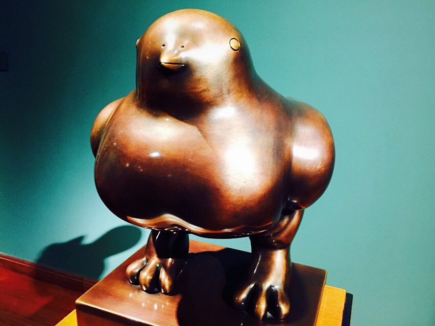Bird of Peace in the Botero Museum in Bogota © Mark Pegrum / Flickr