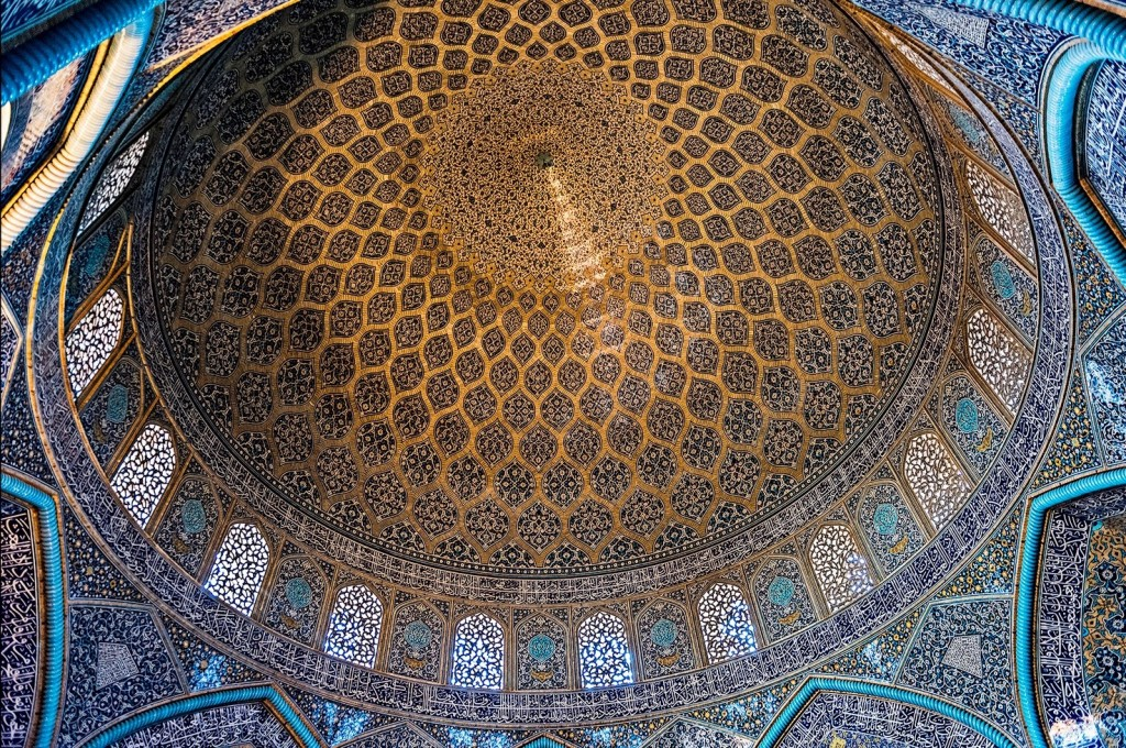 Dome of Sheikh Lotfollah Mosque | © Jean-Louis / Flickr