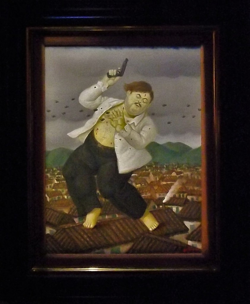 Botero's 'Death of Pablo Escobar' Painting © Young Shanahan / Flickr