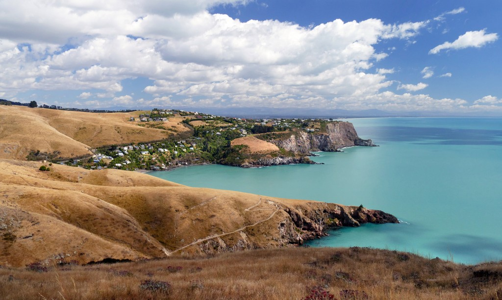 Banks Peninsula, New Zealand | © Bernard Spragg/Flickr