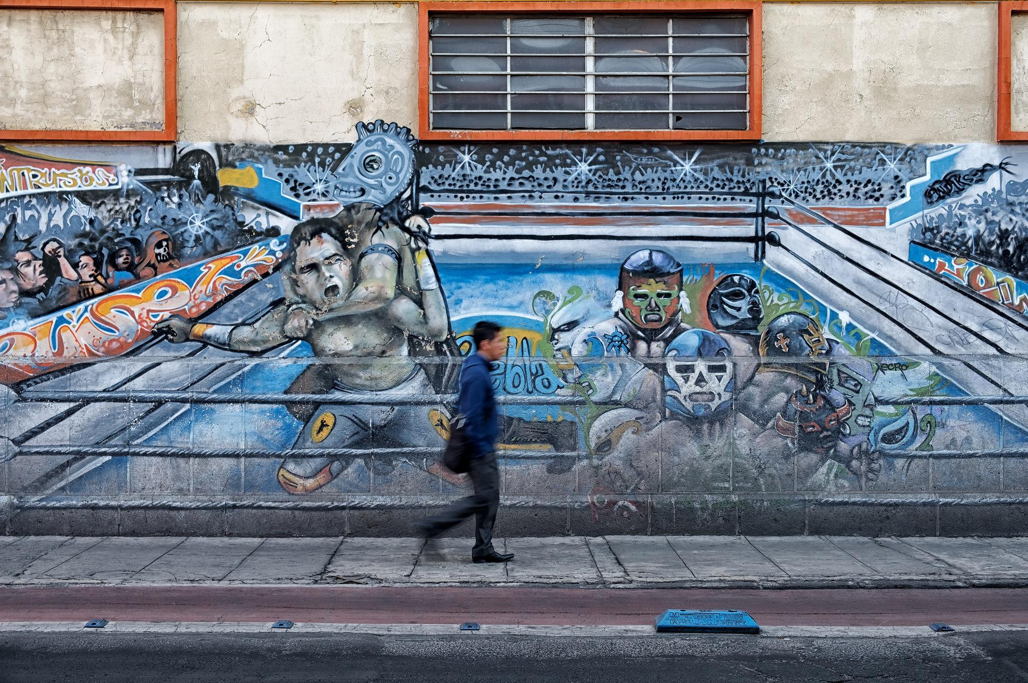 Artistic interpretation of a lucha libre | © Timothy Neesam/Flickr