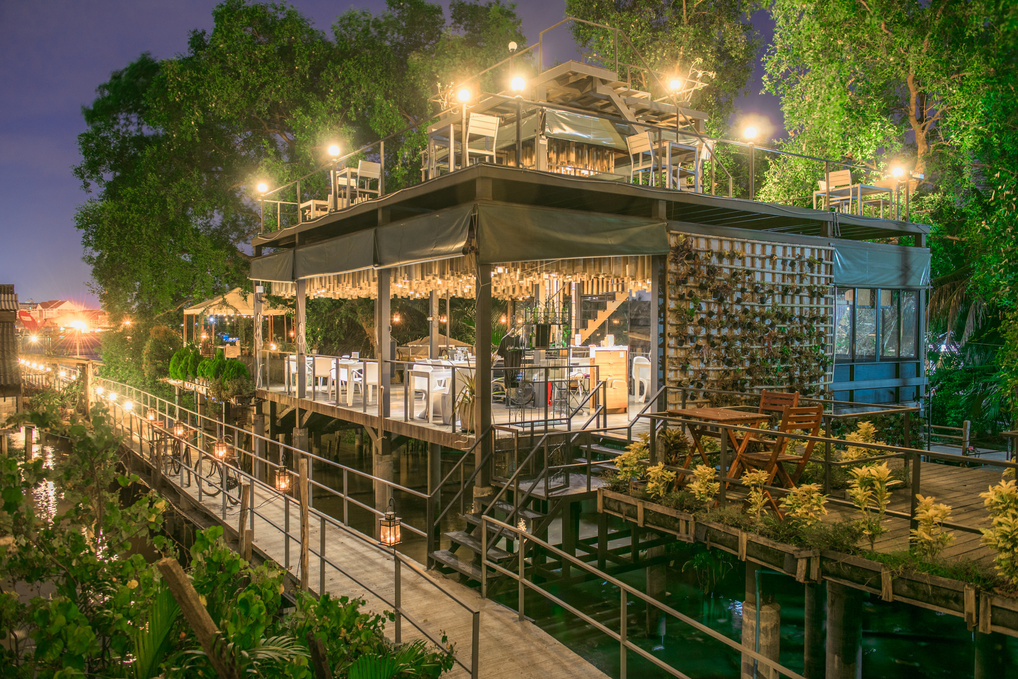 Urban Escape Staying At A Treehouse Hotel In Bangkok