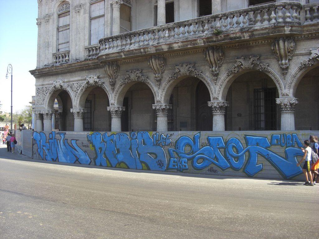 Graffiti in Havana, Cuba | © Tobias / Flickr
