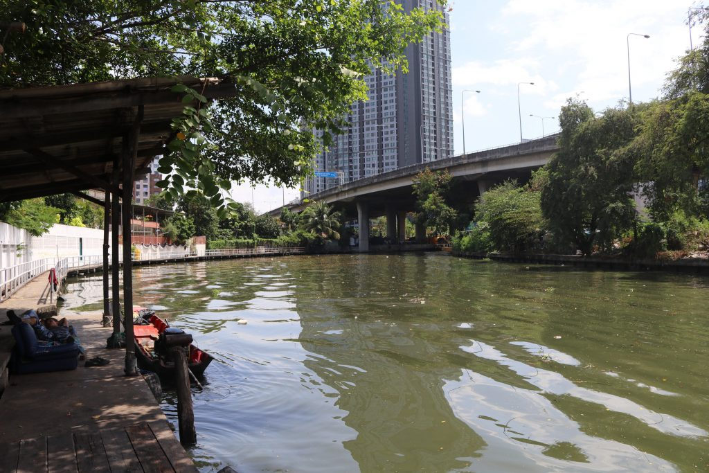 Canal pier at Phra Khanong   Courtesy of Kelly Iverson