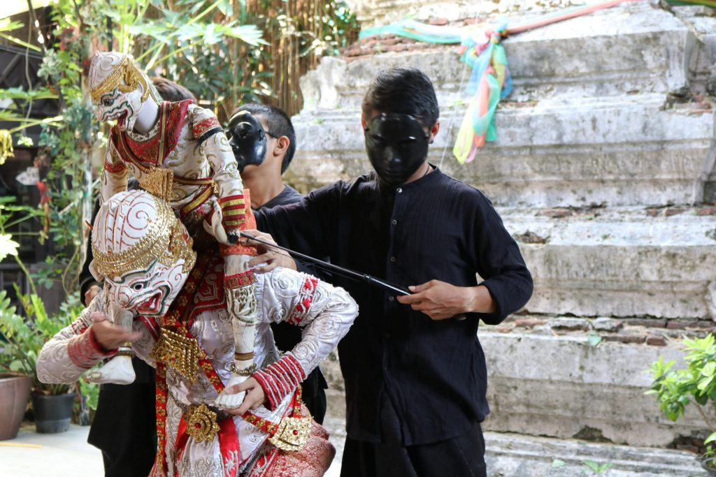 Thai puppetry performance at the Artist's House in Bangkok   Courtesy of Kelly Iverson