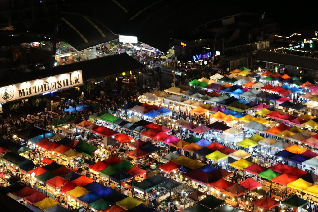 Rod Fai Night Market   Courtesy of Kelly Iverson