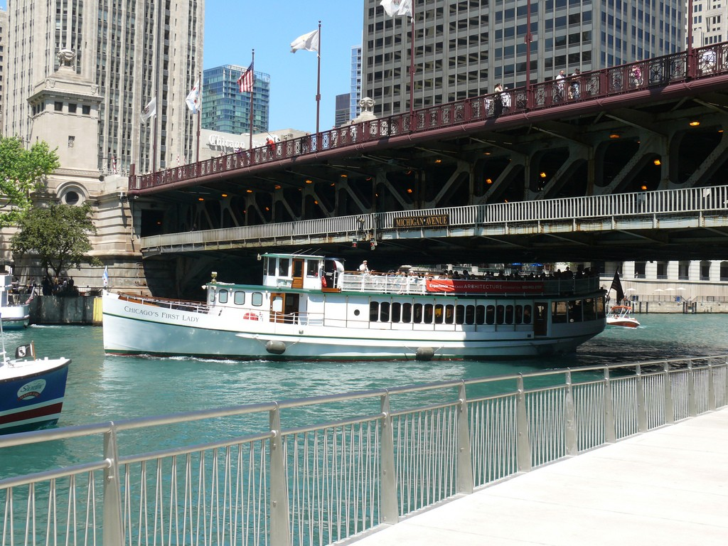 Chicago Architecture Foundation river cruise | © Bill Ward/Flickr