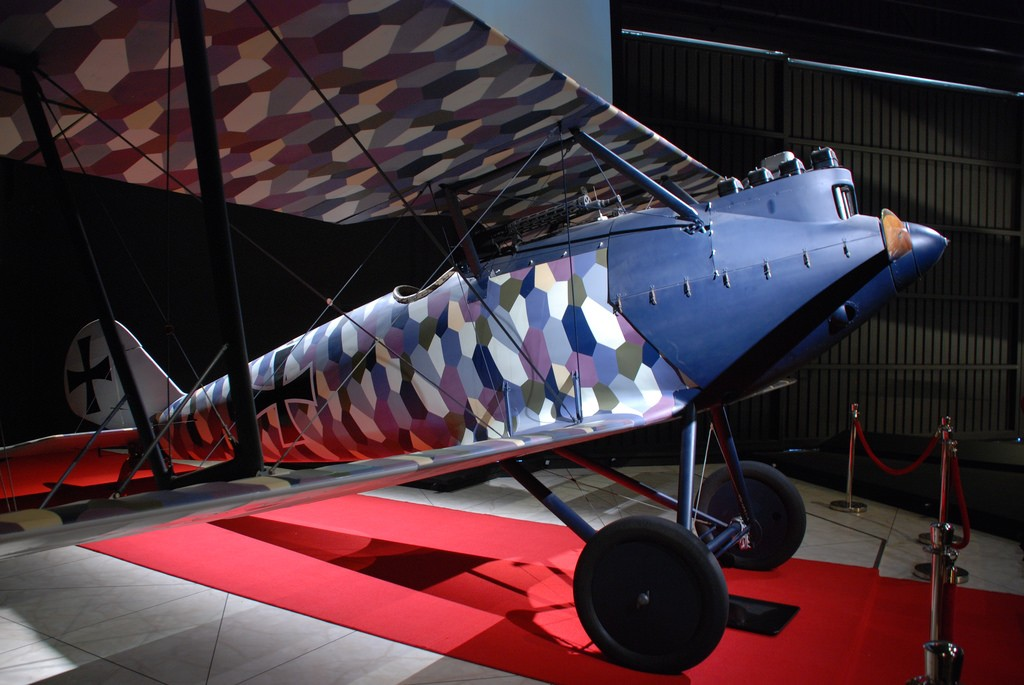 Pfalz D3 Replica on Display at the Omaka Aviation and Heritage Centre | © Phillip Capper/Flickr
