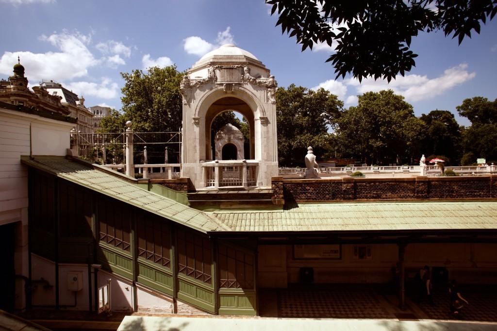Stadtpark: Underground Station at Stadtpark©WienTourismus/Peter Rigaud