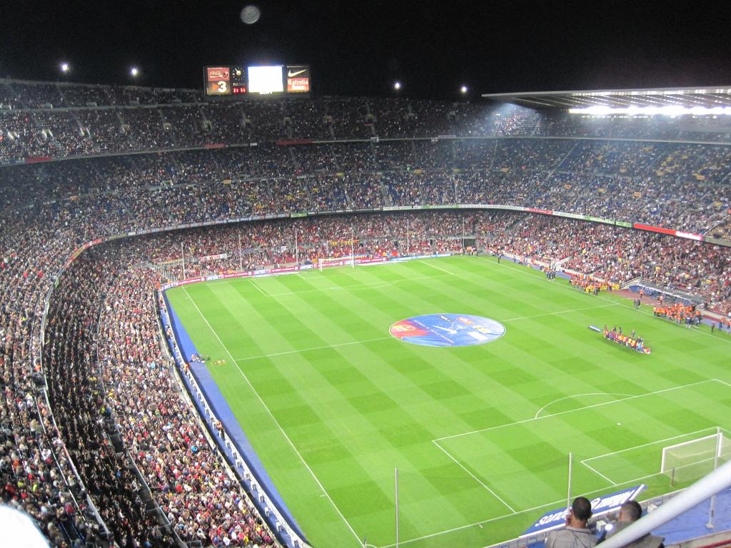A busy Camp Nou stadium | © Oh-Barcelona.com/Flickr