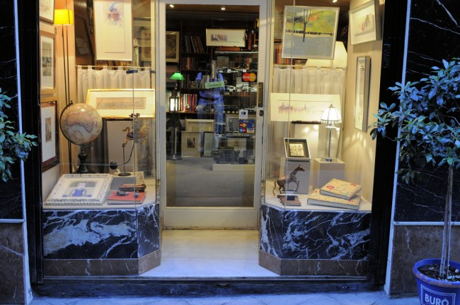 The streets of Seville are home to a number of quirky concept shops; Son of Groucho, flickr