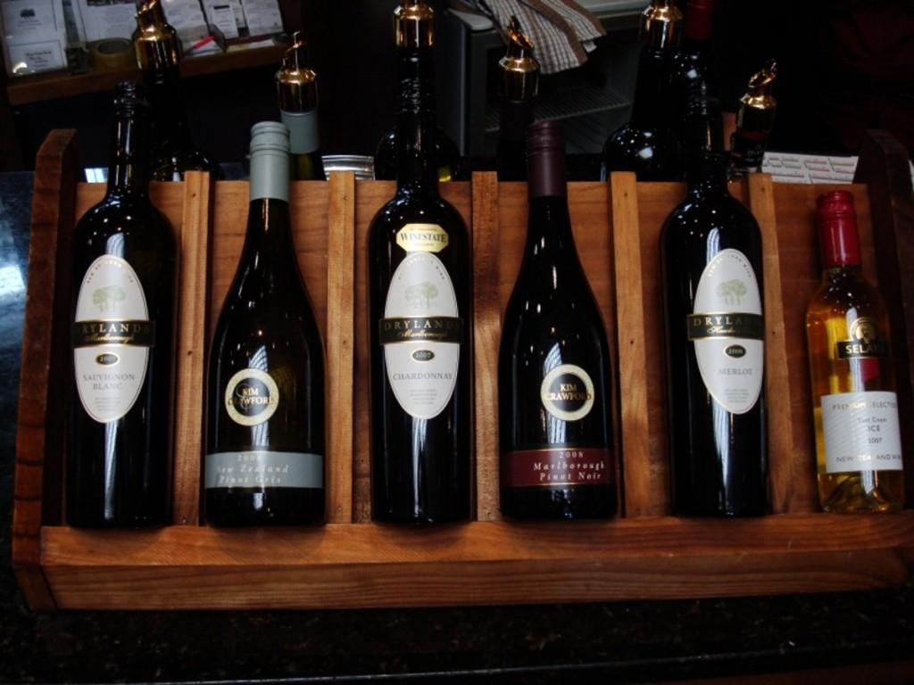 Wines from the Marlborough region   © Emma Jane Hogbin Westby/Flickr