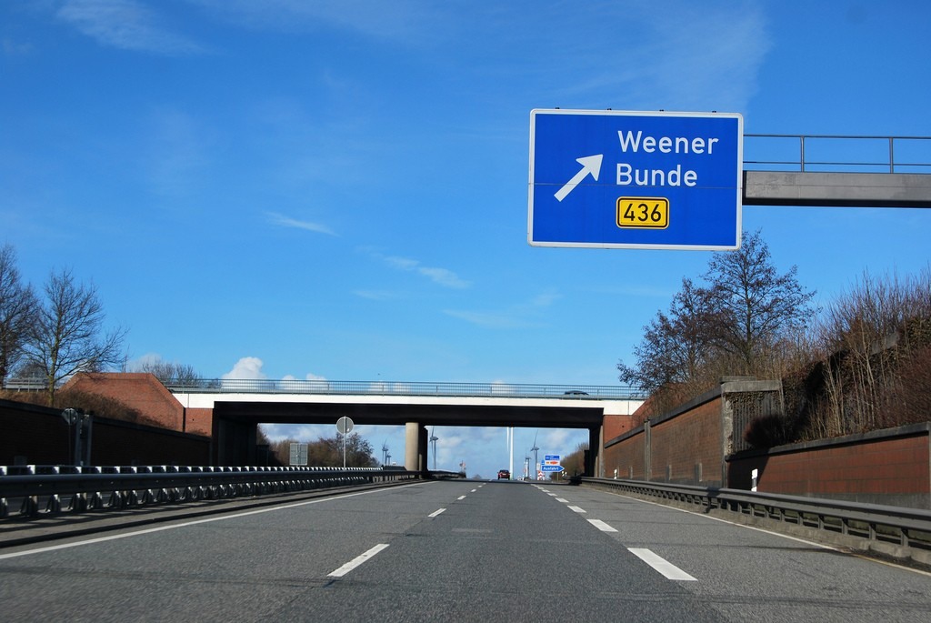 This way for Weener | © tup wanders / Flickr