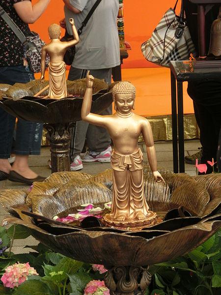 Bathing Buddha in Hong Kong | © lacgojheud / Wikimedia Commons