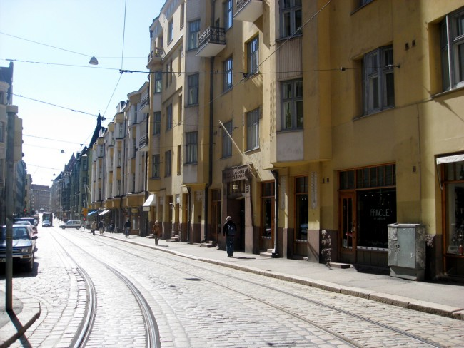 A street in Kallio/ Xuanxu/ Flickr
