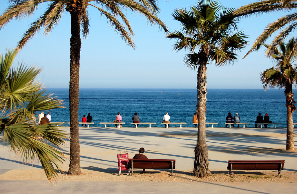 Barcelona's beach | © bjaglin/Flickr