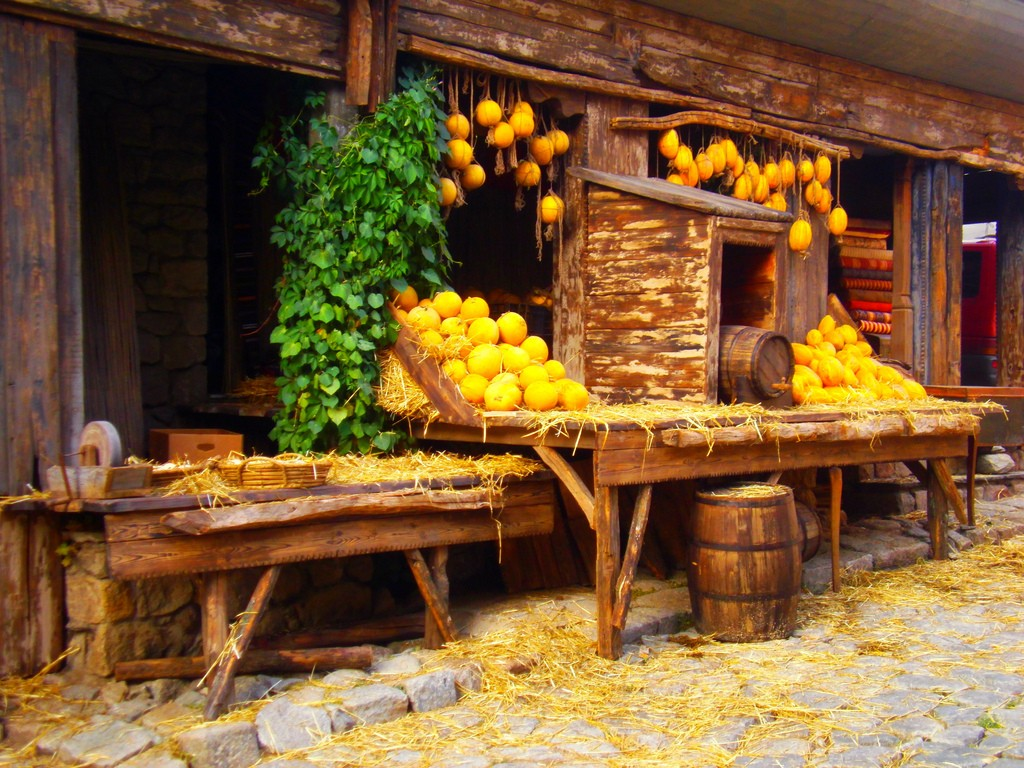 Food stall in Plovdiv   © Siliva Albini/Flickr
