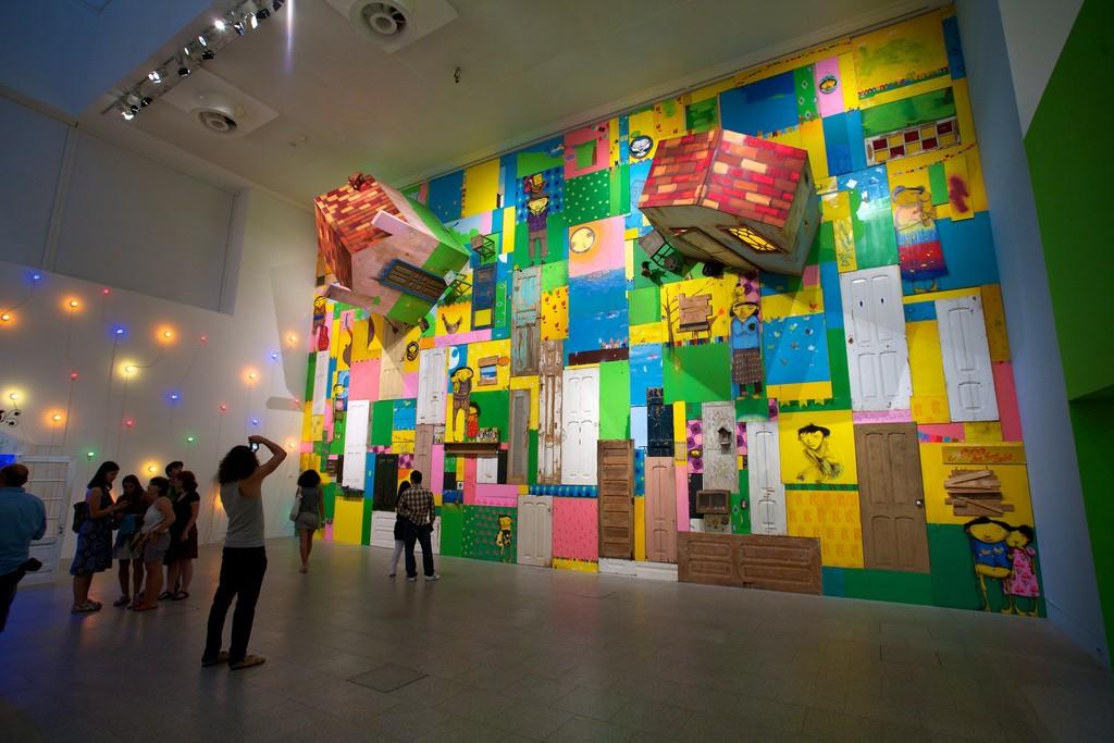 Temporary exhibits are on periodic rotation at the Berardo Museum © Dirk Olbertz / Flickr