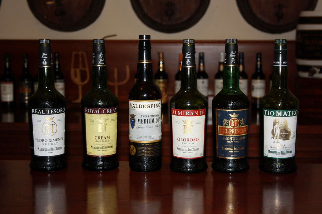 Take your pick of traditional sherries at Bar Alcazares; Andrew Wilkinson, flickr