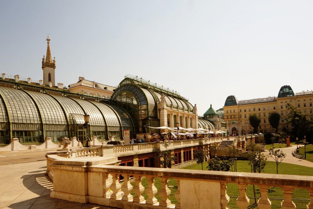 Palm House in the Burggarten@ WienTourismus/Peter Rigaud