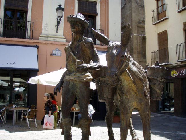 "<a href=""https://www.flickr.com/photos/daquellamanera/"">Granada's Plaza Romanilla, or 'Donkey Square', is a great place to enjoy tapas in spring 
