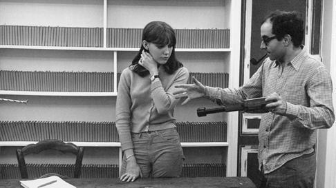 Godard directs Wiazemsky in 'La Chinoise'| © Athos Films