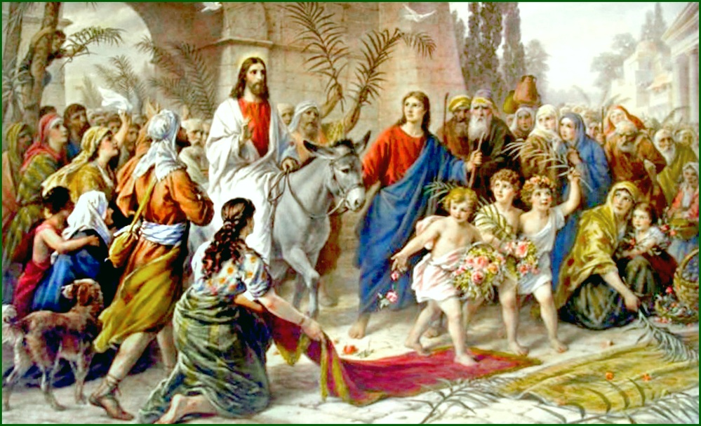 Palm Sunday   © Waiting For The Word / Flickr