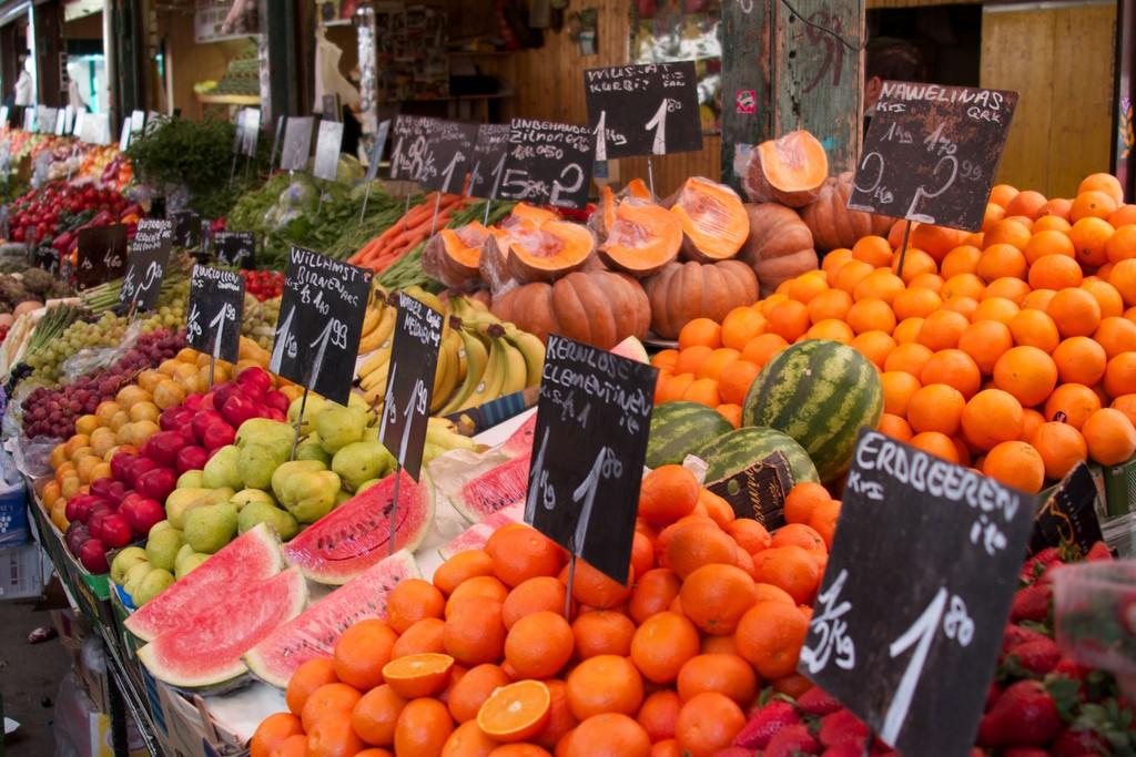 Fruit and Veg at the Naschmarkt | © Manfred Morgner / Flickr