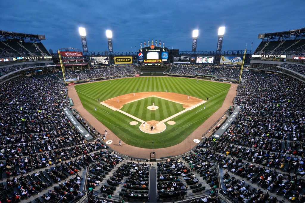 Cellular Field, the home of the Chicago White Sox | © Geoff Livingston/Flickr