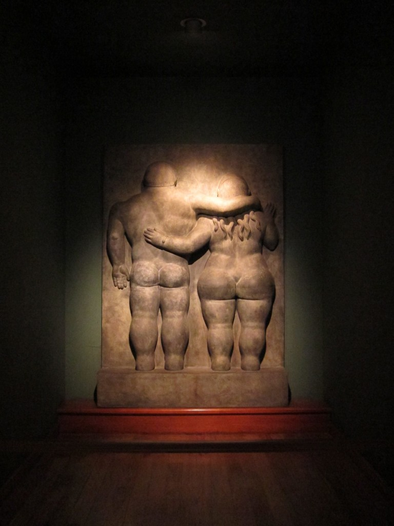 Botero's Adam and Eve in the Botero Museum Bogota © Luvprelove / Flickr